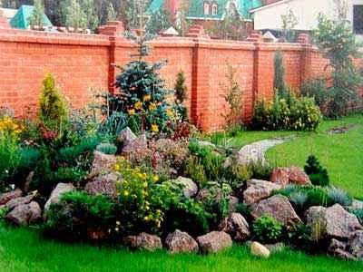 Создание альпинария в саду
