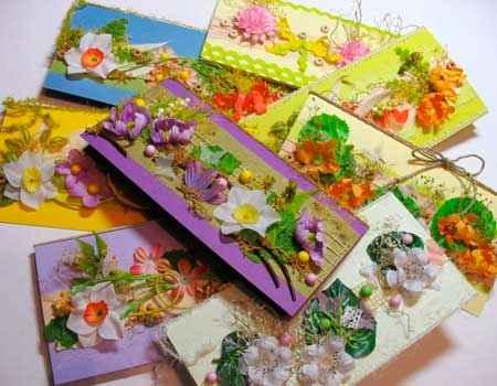 Флористические открытки