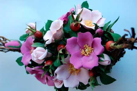 Элементы цветочной композиции