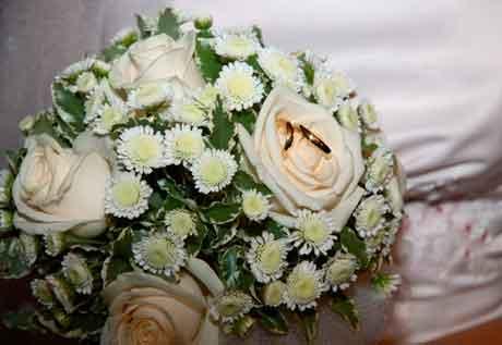 Подготовка к свадьбе и оформление цветами зала