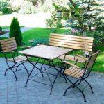 кованая садовая мебель фото