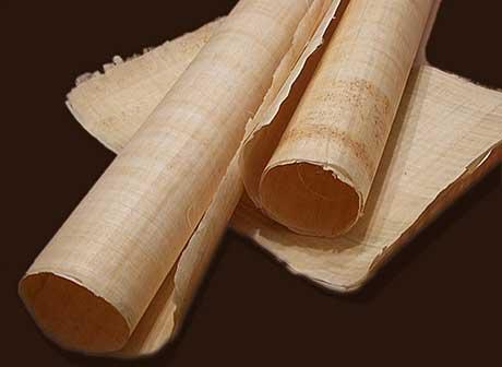 Папирусные листы применяемые для письма
