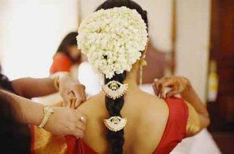 Цветы для прически индианки