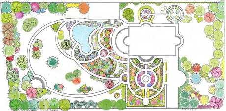 создание проекта ландшафтного дизайна