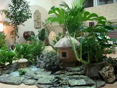 Фитодизайн интерьеров и помещений для отдыха.
