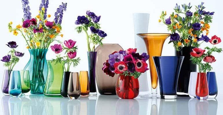 Разновидности ваз для цветов