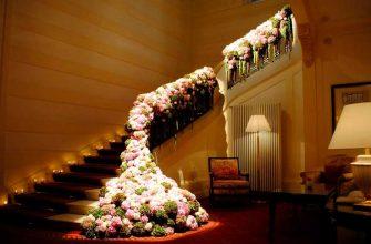 живые цветы в гостиницах
