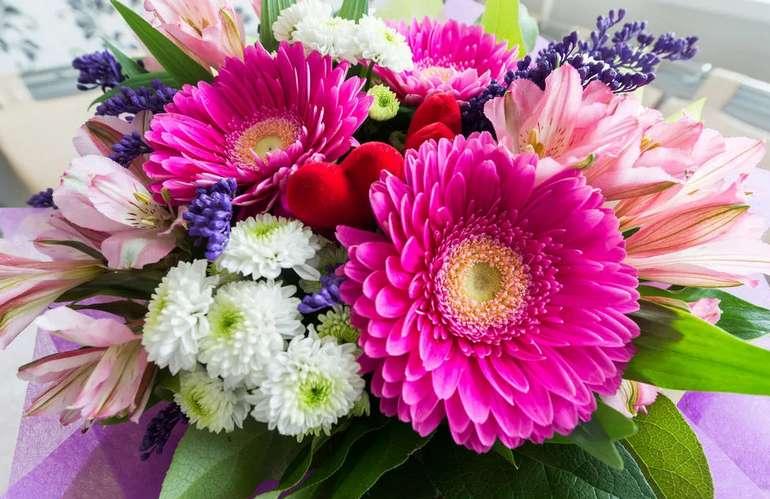 Стили букетов цветов